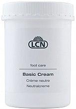 Духи, Парфюмерия, косметика Питательный крем для ног на основе эфирных масел (с дозатором) - LCN Basic Cream