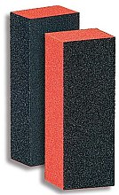 Духи, Парфюмерия, косметика Блок-шлифовщик для ногтей, 9351, черный с оранжевым - Donegal