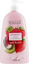 """Духи, Парфюмерия, косметика Шампунь для волос """"Фруктовый микс"""" - Gallus Shampoo Fruit Mix"""