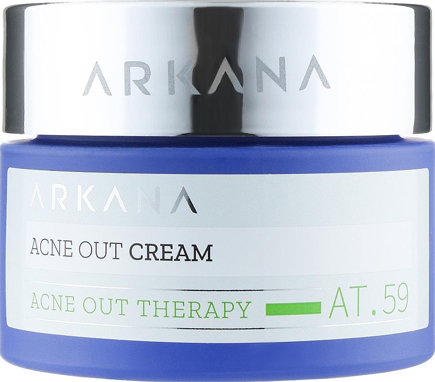 Крем для жирной кожи и склонной к прыщам - ARKANA Acne Out Cream