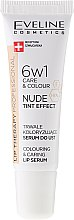 Духи, Парфюмерия, косметика Интенсивная сыворотка для губ 6в1 - Eveline Cosmetics Lip Therapy Proffesional Tint