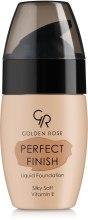 Духи, Парфюмерия, косметика Тональный крем - Golden Rose Perfect Finish Liquid Foundation