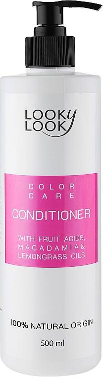 Бальзам для фарбованого волосся - Looky Look Hair Care Balsam — фото N3