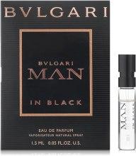Духи, Парфюмерия, косметика Bvlgari Man In Black - Парфюмированная вода (пробник)