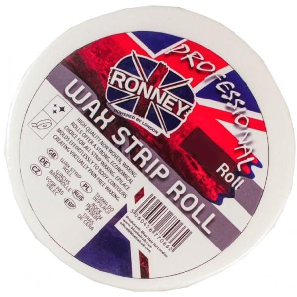 Восковые полоски для депиляции в рулоне, 50 м - Ronney Professional Wax Strip Roll