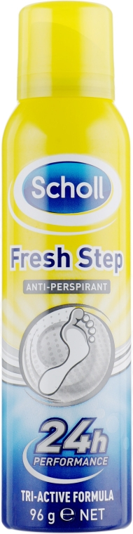 Дезодорант-антиперспирант для ног - Scholl Fresh Step Antiperspirant