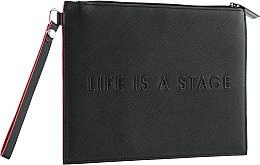 Духи, Парфюмерия, косметика Косметичка большая, черная MUFE062 - Make Up For Ever Life Is A Stage