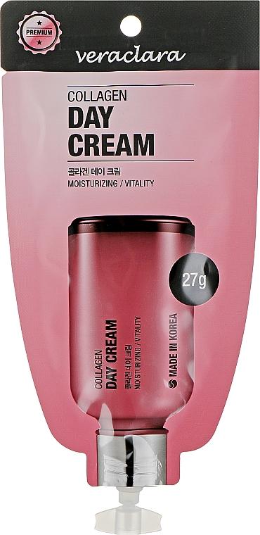 Дневной крем для лица с коллагеном - Veraclara Collagen Day Cream