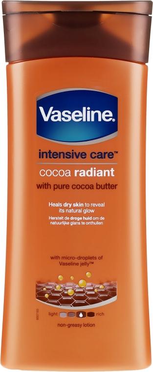 Увлажняющий лосьон для тела - Vaseline Intensive Care Cocoa Radiant Lotion