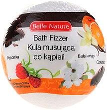 Духи, Парфюмерия, косметика Бурлящий шарик для ванны, белый - Belle Nature