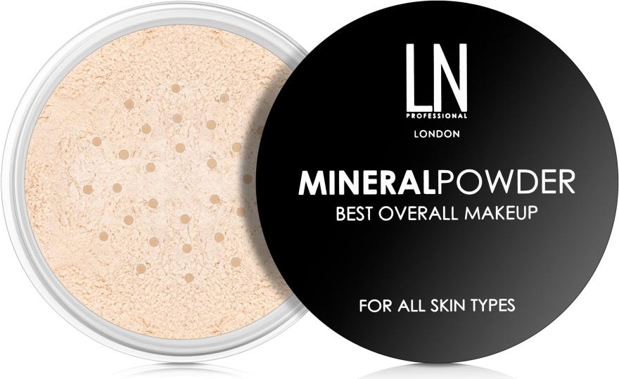 Рассыпчатая пудра для лица - LN Professional Mineral Powder Best Overall Makeup