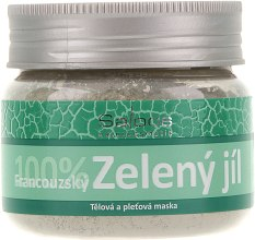 Парфумерія, косметика Французька зелена глина для обличчя - Saloos French Green Clay