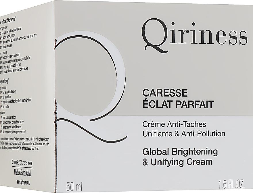 Комплексный отбеливающий крем для лица - Qiriness Global Brightening & Unifying Cream