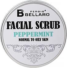 Духи, Парфюмерия, косметика Скраб для лица с мятой - Fergio Bellaro Exfoliante Facial