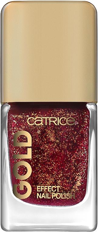 Лак для ногтей - Catrice Gold Effect Nail Polish
