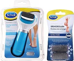 Духи, Парфюмерия, косметика Электрическая пилка для ног + 2 запасные головки - Scholl Expert Care Ultra Stark
