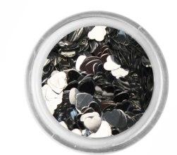 Духи, Парфюмерия, косметика Блестки сердечки для декора ногтей - Adore Professional
