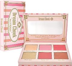 Духи, Парфюмерия, косметика Палетка для макияжа - Viva La Diva Blush & Highlighter Dream Cheek Palette