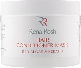 Духи, Парфюмерия, косметика Маска-кондиционер для волос с красными водорослями и кератином - Rena Rosh Hair Conditioner Mask
