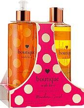 Духи, Парфюмерия, косметика Набор - Grace Cole Boutique With Love Duo Mandarin Sunset (b/wash/500ml + h/wash/500ml)