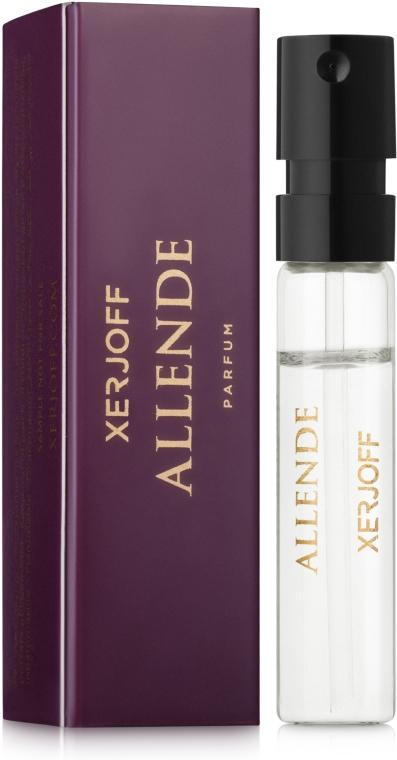 Xerjoff Allende - Парфюмированная вода (пробник)