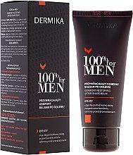 Духи, Парфюмерия, косметика Успокаивающий бальзам после бритья - Dermika Comfort Restoring After-Shave Balm