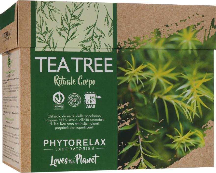 "Набор ""Vegan & Organic Tea Tree"" - Phytorelax Laboratories (b/shower gel/250ml + b/lotion/250ml)"