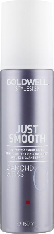 Спрей для блеска волос и защиты от влажности - Goldwell Stylesign Just Smooth Diamond Gloss