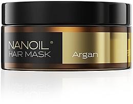 Духи, Парфюмерия, косметика Маска для волос с аргановым маслом - Nanoil Argan Hair Mask