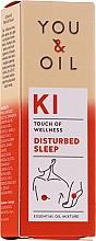 Духи, Парфюмерия, косметика Смесь эфирных масел - You & Oil KI-Disturbed Sleep Touch Of Welness Essential Oil