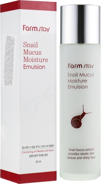 Увлажняющая эмульсия для лица - FarmStay Snail Mucus Moisture Emulsion
