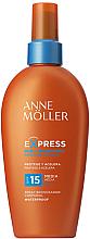 Духи, Парфюмерия, косметика Солнцезащитный спрей для ускорения загара - Anne Moller Express Sunscreen Body Spray SPF15
