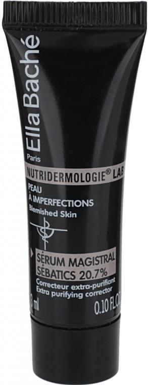 """Сыворотка """"Мажистраль Себатикс"""" - Ella Bache Nutridermologie® Lab Face Serum Magistral Sebatics 20,7% (пробник)"""