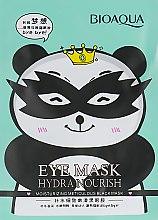 Духи, Парфюмерия, косметика Тканевая маска для кожи вокруг глаз, снимающая усталость - Bioaqua Hydra Nourish Eye Mask