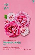 """Духи, Парфюмерия, косметика Тканевая маска """"Дамасская роза"""" - Holika Holika Pure Essence Mask Sheet Damask Rose"""