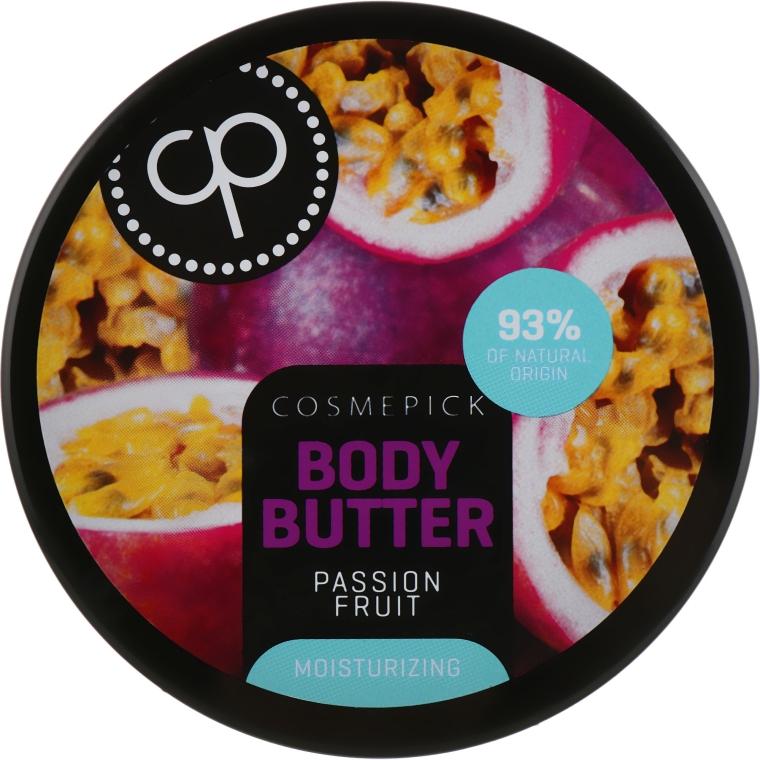 Увлажняющее масло для тела с экстрактом маракуйи - Cosmepick Body Butter Passion Fruit