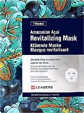 Духи, Парфюмерия, косметика Восстанавливающая маска для лица с ягодами асаи - Leaders 7 Wonders Amazonian Acai Revitalizing Mask