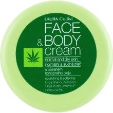 Духи, Парфюмерия, косметика Крем для лица и тела - Laura Collini Face & Body Cream