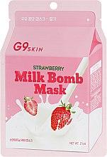 """Духи, Парфюмерия, косметика Тканевая маска """"Клубника"""" - G9Skin Milk Bomb Mask Strawberry"""
