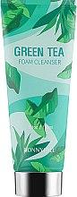 Духи, Парфюмерия, косметика Очищающая пенка для лица с экстрактом зеленого чая - Beauadd Bonnyhill Flower Cleansing Foam Green Tea