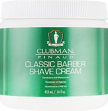 Духи, Парфюмерия, косметика Классический универсальный крем для бритья - Clubman Pinaud Classic Barber Shave Cream