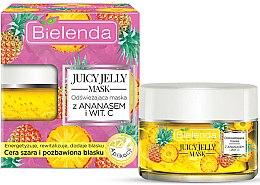 Духи, Парфюмерия, косметика Освежающая маска с ананасом и витамином С - Bielenda Juicy Jelly Mask