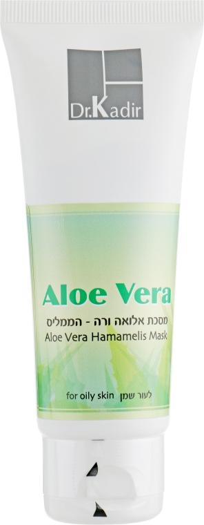 Маска для жирной кожи - Dr. Kadir Face Masks Aloe Vera-Hamamelis Mask For Oily Skin