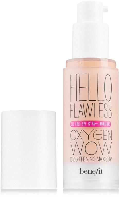 Тональная основа - Benefit Hello Flawless Oxygen Wow SPF25 PA+++