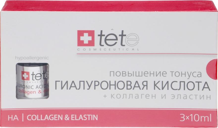 "Сыворотка ""Гиалуроновая кислота + Коллаген и эластин"" - TETe Cosmeceutical Hyaluronic Acid"