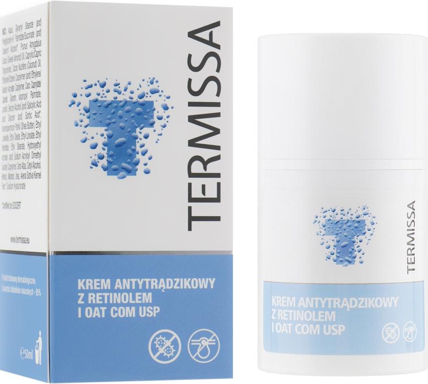 Крем для кожи акне с бетаглюканом и ретинолом - Termissa Face Cream
