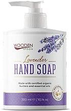 Духи, Парфюмерия, косметика Жидкое мыло «Лаванда» - Wooden Spoon Lavender Hand Soap