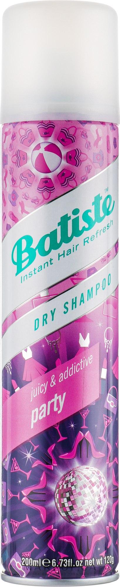 Сухой шампунь - Batiste Party Juicy and Addictive Dry Shampoo  — фото 200ml