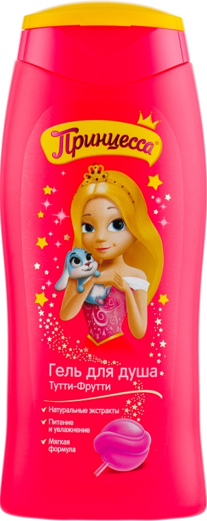 "Гель для душа Принцесса ""Тутти-Фрутти"" - Disney"