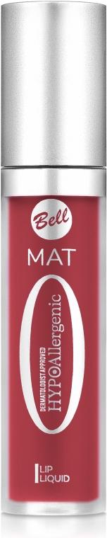 Жидкая матовая помададля губ - BellHypoAllergenic Mat Lip Liquid